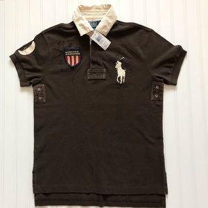 POLO Ralph Lauren Short Sleeve 3 Button Polo!   S